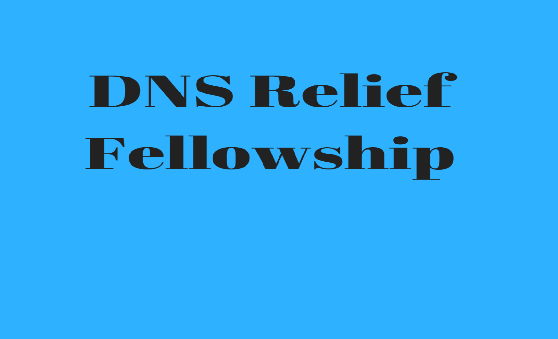 Ministry Spotlight- DNS Relief Fellowship